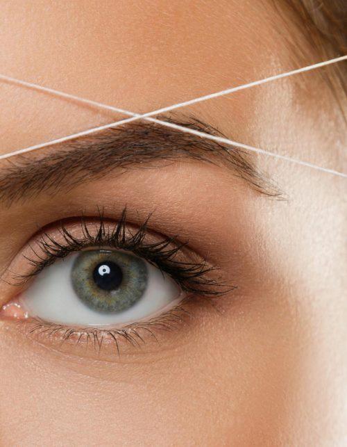eyebrow thread